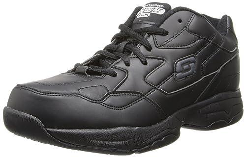 Skechers para el trabajo 76555 Albie holgado de zapato para