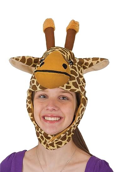 Amazon.com  J25547 Giraffe Hat  Clothing df84a3d50db