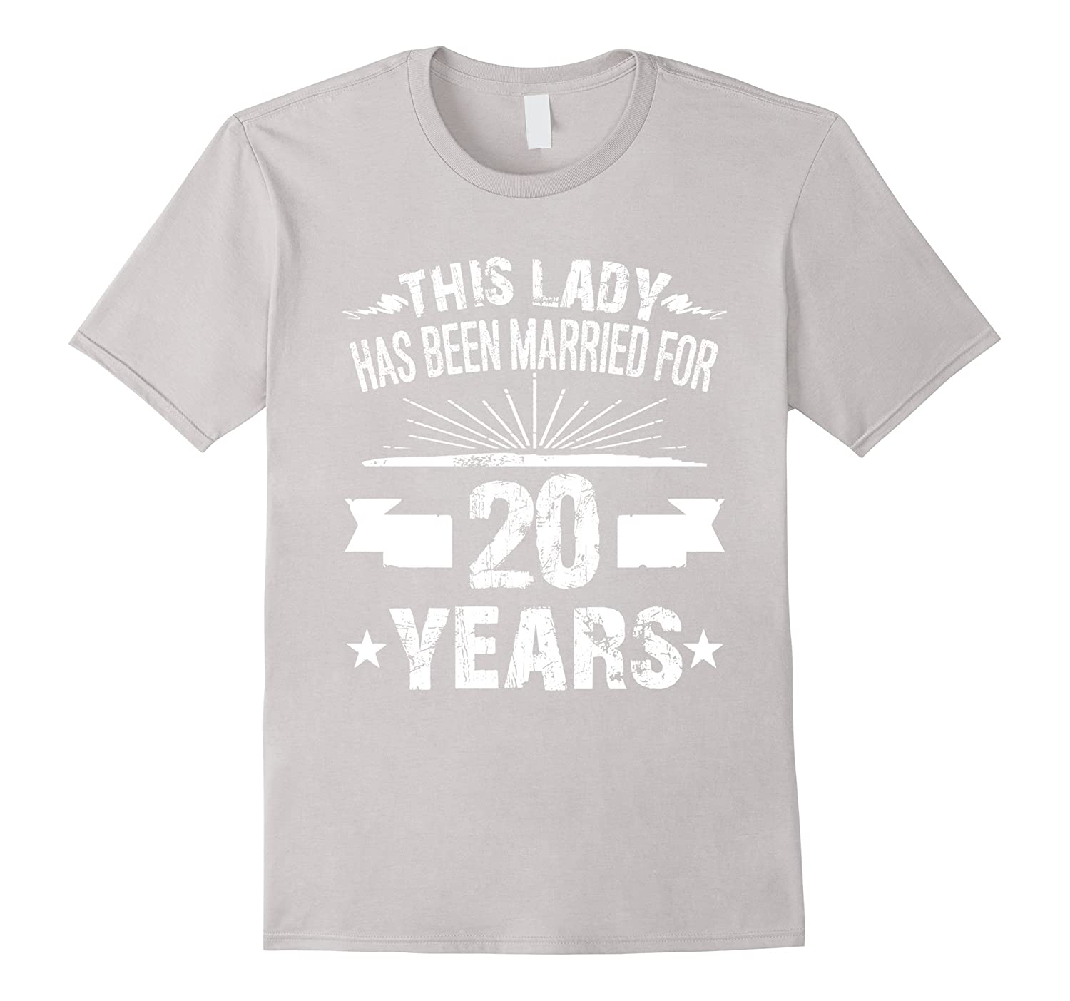 20 Year Wedding Anniversary Gifts For Her: 20th Wedding Anniversary Gifts 20 Year Shirt For Her-RT
