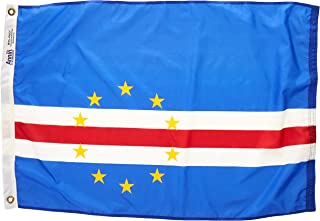product image for Annin Flagmakers Model 191430 Cape Verde Flag Nylon SolarGuard NYL-Glo, 2x3 ft, 100% Made in USA to Official United Nations Design Specifications