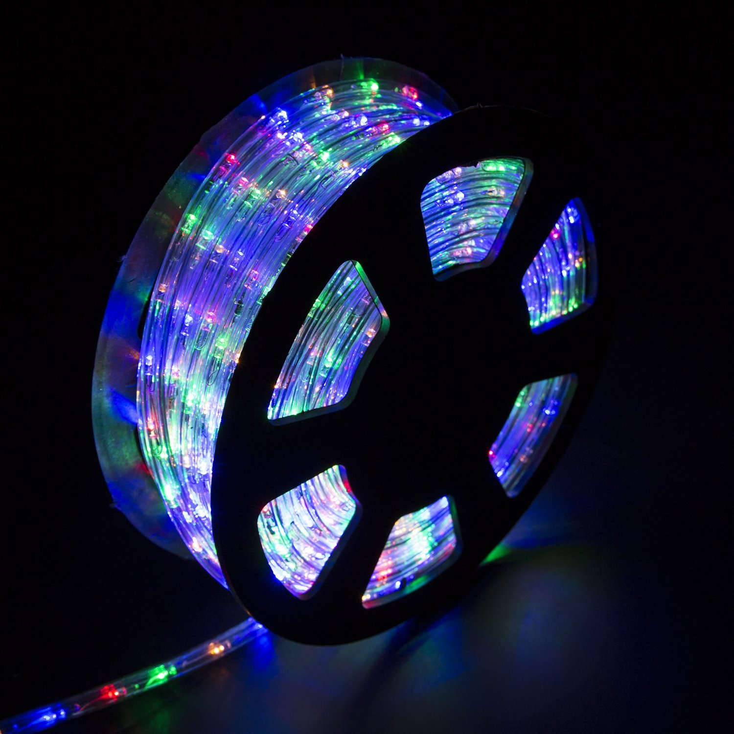Diophros 150FT Rope Light, LED Strip Lights for Indoor Outdoor Rope Lighting Waterproof Decorative Lighting Backyards Garden and Party Decoration (Multicolor)