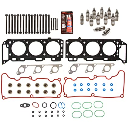 Evergreen Hshblf8 20702 Lifter Replacement Kit Fits 00 03 Ford Explorer Ranger Mazda Mercury 4 0 Sohc Head Gasket Set Head Bolts Lifters