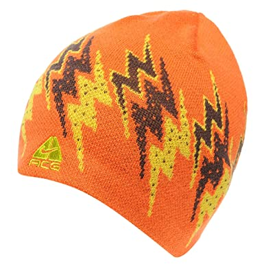 7904877da Nike ACG Unisex Adults Orange Rider Beanie Hat: Amazon.co.uk: Clothing