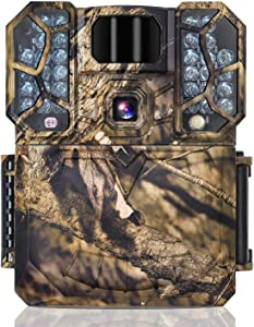 Trail Cameras, FORESTCAM 4K FHD 1080P 60Fps 32MP Bluetooth Hunting Camera with 32GB Card Game Cameras with Night Vision Motion Activated IP66 Waterproof Trail Cam with 0.15s Trigger Time 2.0 in Screen