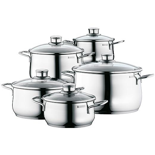 WMF Diadem Plus - Batería de Cocina (5 Piezas)