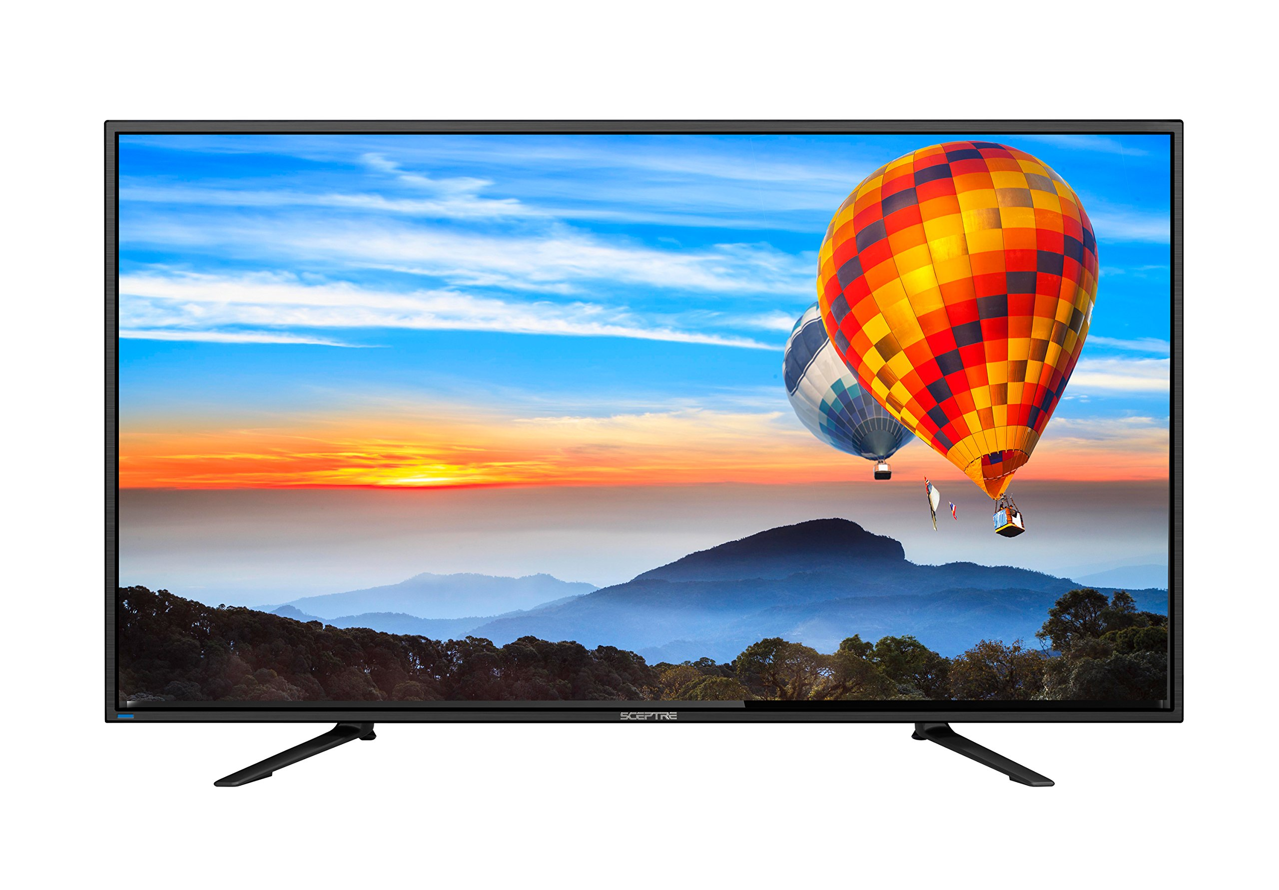 Sceptre 65 inches 4K 3840 x 2160 LED TV U658CV-UMC Metal Black 2018 by Sceptre