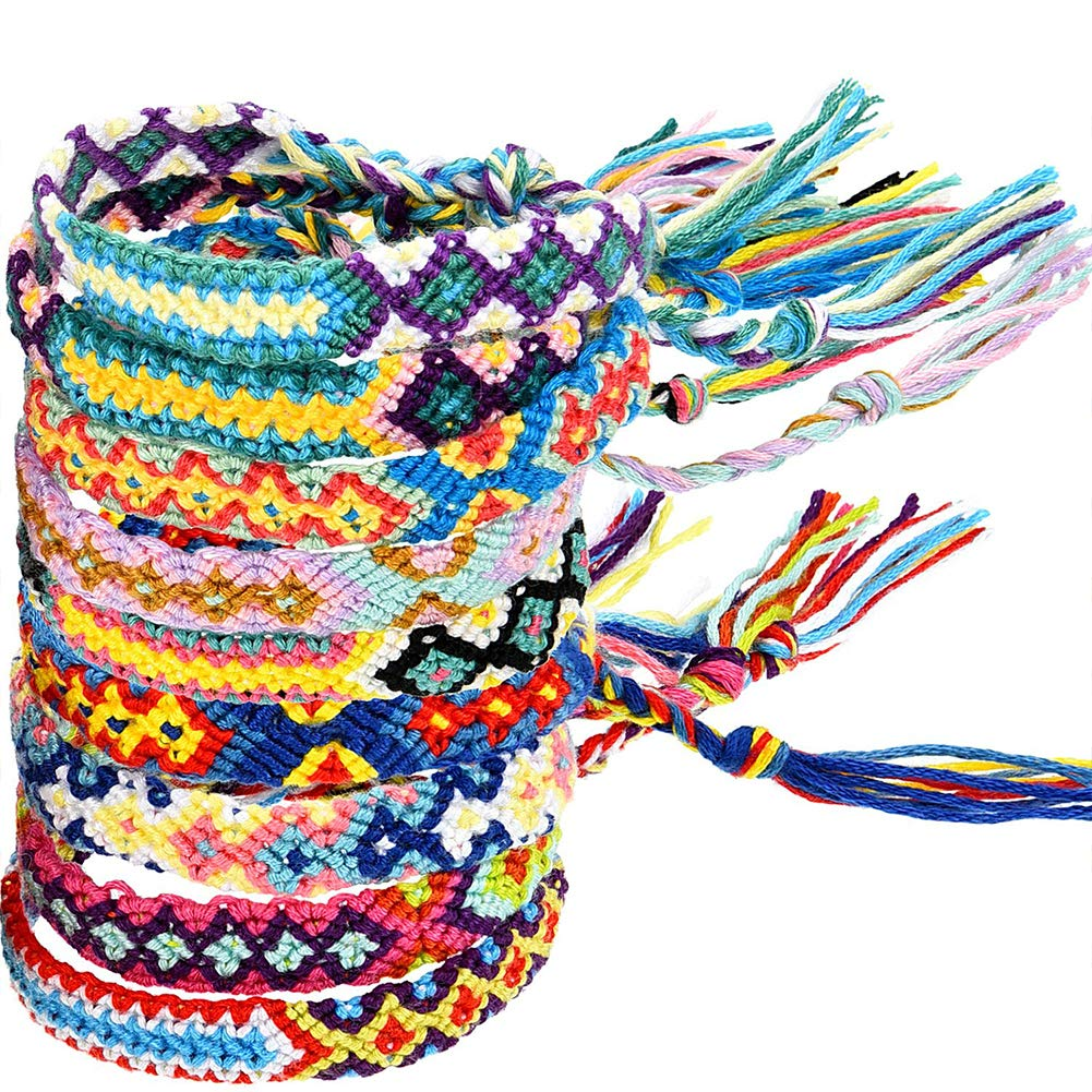 gorgeous braided friendship bracelets for your child to trade