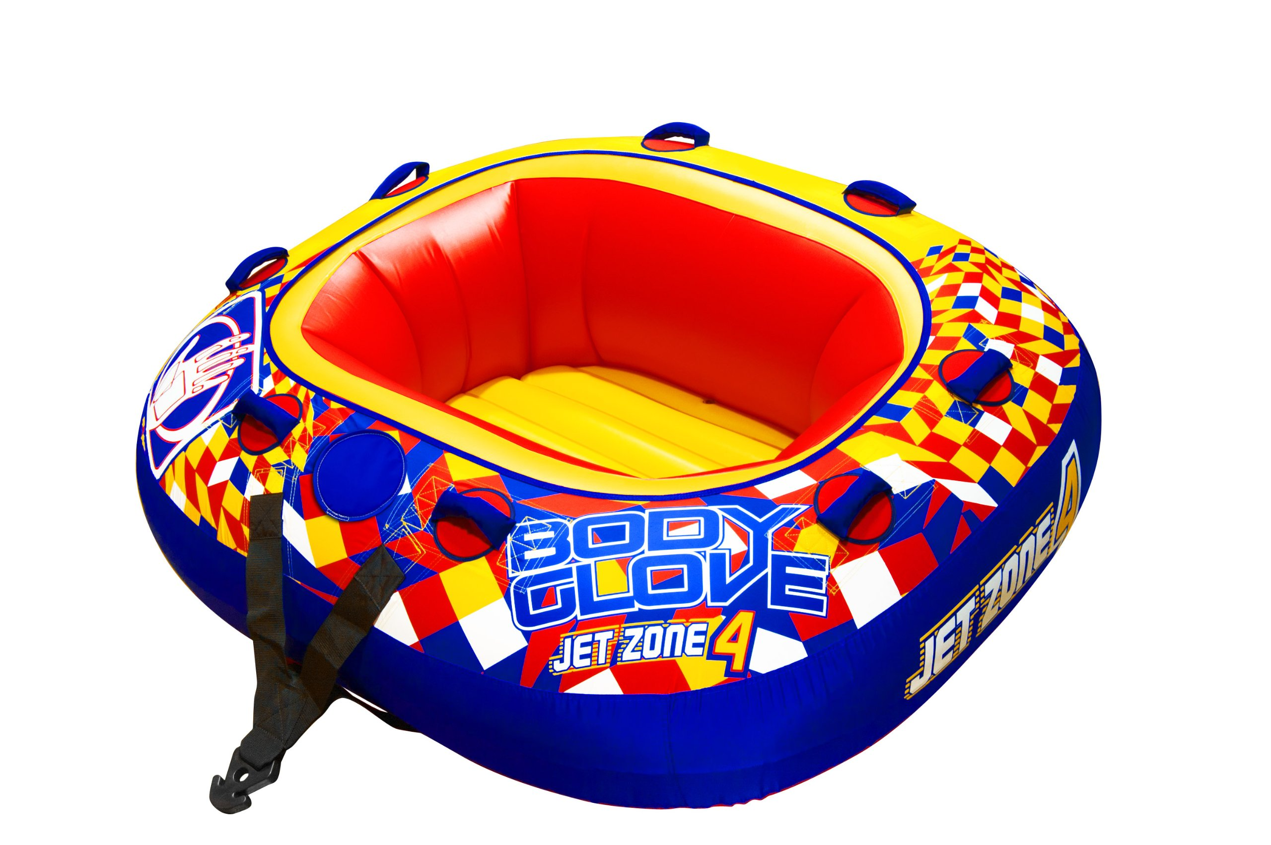 Body Glove 15543 Jet Zone 4 Inflatable 4 Person Towable by jetpilot