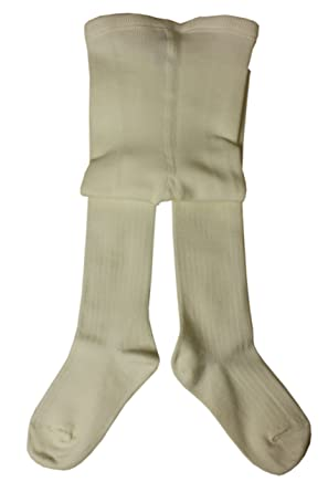 9c6ccbb8d Weri Spezials Girls Wool Tights Cream  Amazon.co.uk  Clothing