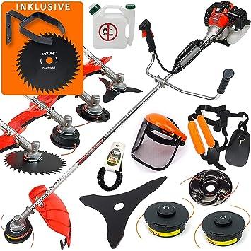 Desbrozadora de gasolina 2 en 1 Demon 5,2 CV, desbrozadora OG2U: Amazon.es: Bricolaje y herramientas