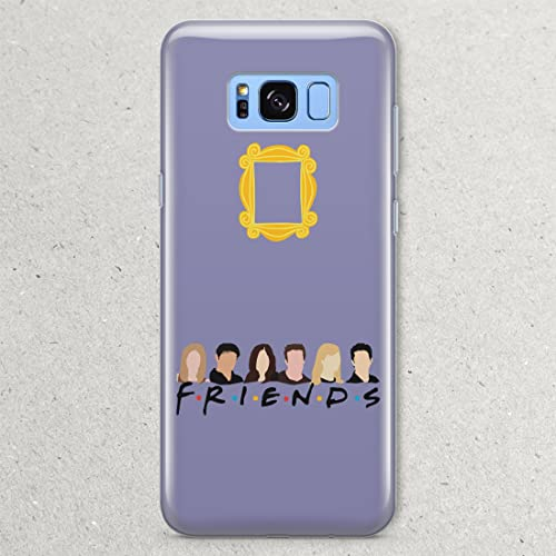 Amazon com: Monicas Door Phone Case TV Show Friends Yellow Peephole