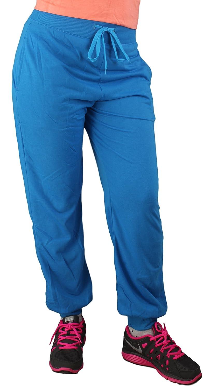 Damen Sweatpant / Jogginghose / Turnhose / Sporthose / Trainingshose in 1 und 2 farbig Contrast