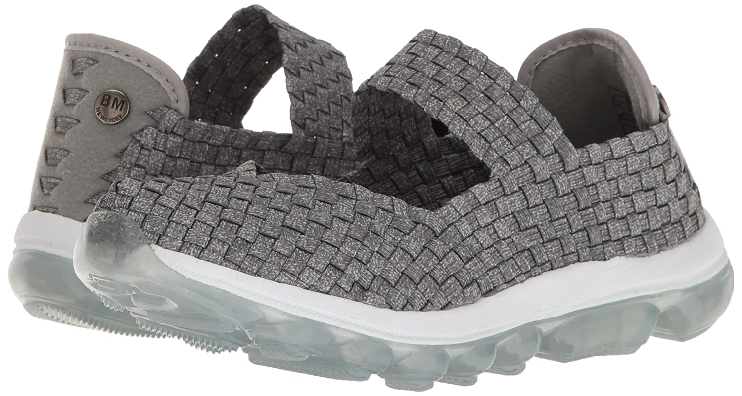 Bernie Mev Women's Gummies Charm Flat B01MU4ZAAD 39 EU/8-8.5 M US|Heather Grey Ice