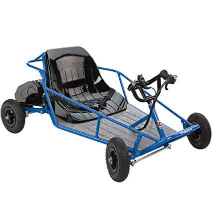 Kids Dune Buggy >> Razor 25143540 Kids Youth Single Rider Electric Car Go Kart Dune Buggy Blue