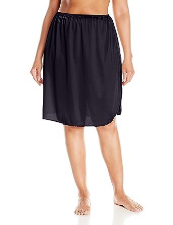 29be5ee0b1213 VASSARETTE Women s Full Figure Tailored Anti-Static Half Slip 11822 ...