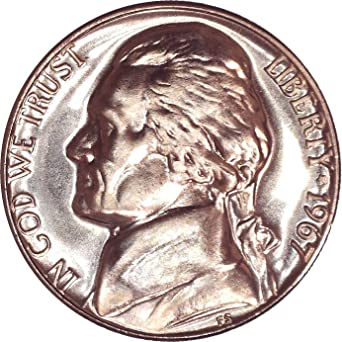 1967 P Jefferson Nickel  **FREE SHIPPING**