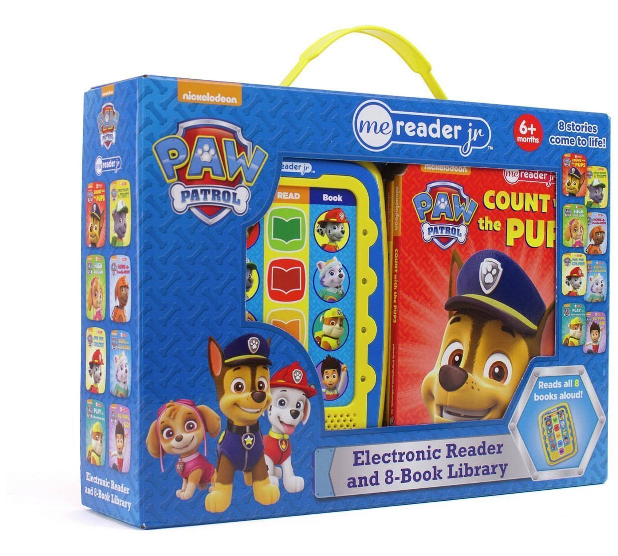 Read Online Nickelodeon - PAW Patrol Me Reader Jr. 8-Book Library - PI Kids ebook