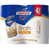 Swanson Chicken Broth, 14.5 Ounce (Pack of 4)