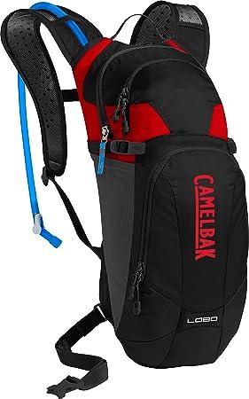 CAMELBAK Lobo Mochila de hidratación (Black/Racing Red, 3 litros): Amazon.es: Deportes y aire libre