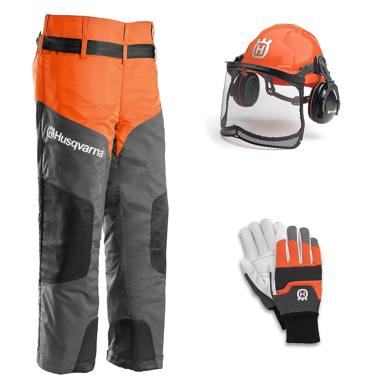 Husqvarna Kit de ropa de protección para motosierra: Amazon.es ...