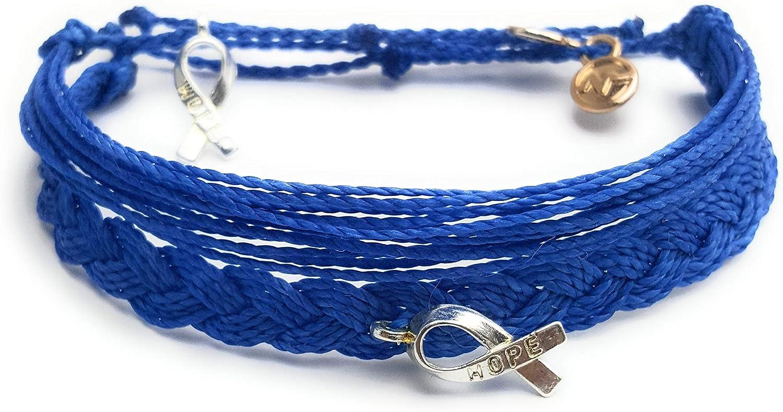 Amazon Com Colon Cancer Awareness Bracelets Style Pack Jewelry