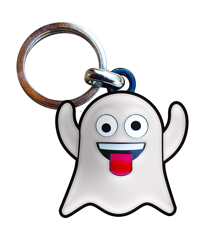 Llavero emoji fantasma
