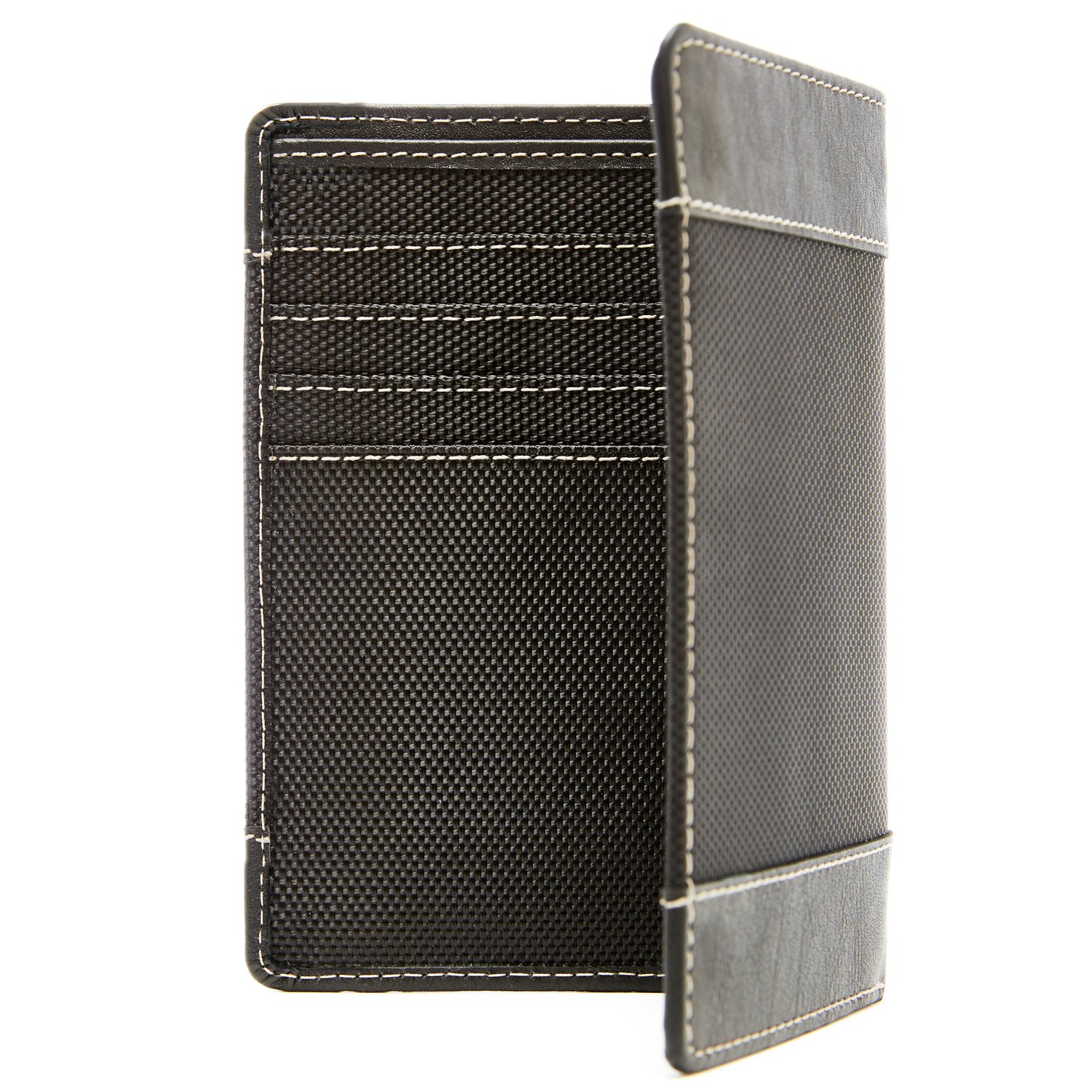 Passport Holder Cover RFID Blocking - Leather Travel Wallet Credit Card Organizer by Access Denied (Image #8)