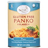 Jeff Nathan Creations Gluten-Free Plain Panko Flakes, 15 Ounce (Pack of 12)