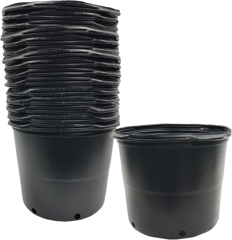 200 Piece Kosma Plast 710//16B Plastic Flower Pot Trivet Brown Ø16cm