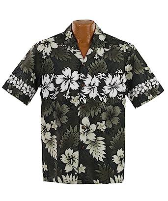 87ee2c0a Tribal Camouflage Hawaiian Aloha Shirt; Made in Hawaii at Amazon Men's Clothing  store:
