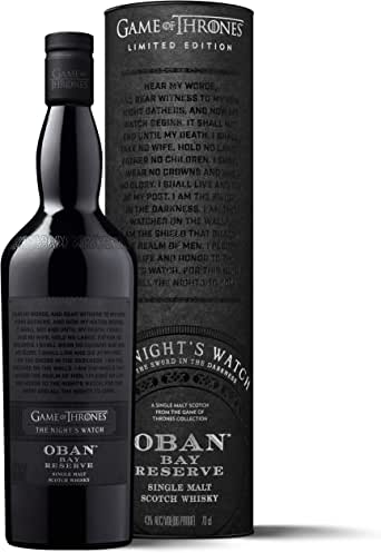 Game of Thrones The Night's Watch - Oban Bay Reserve Limited Edition Scotch Whisky 700ml