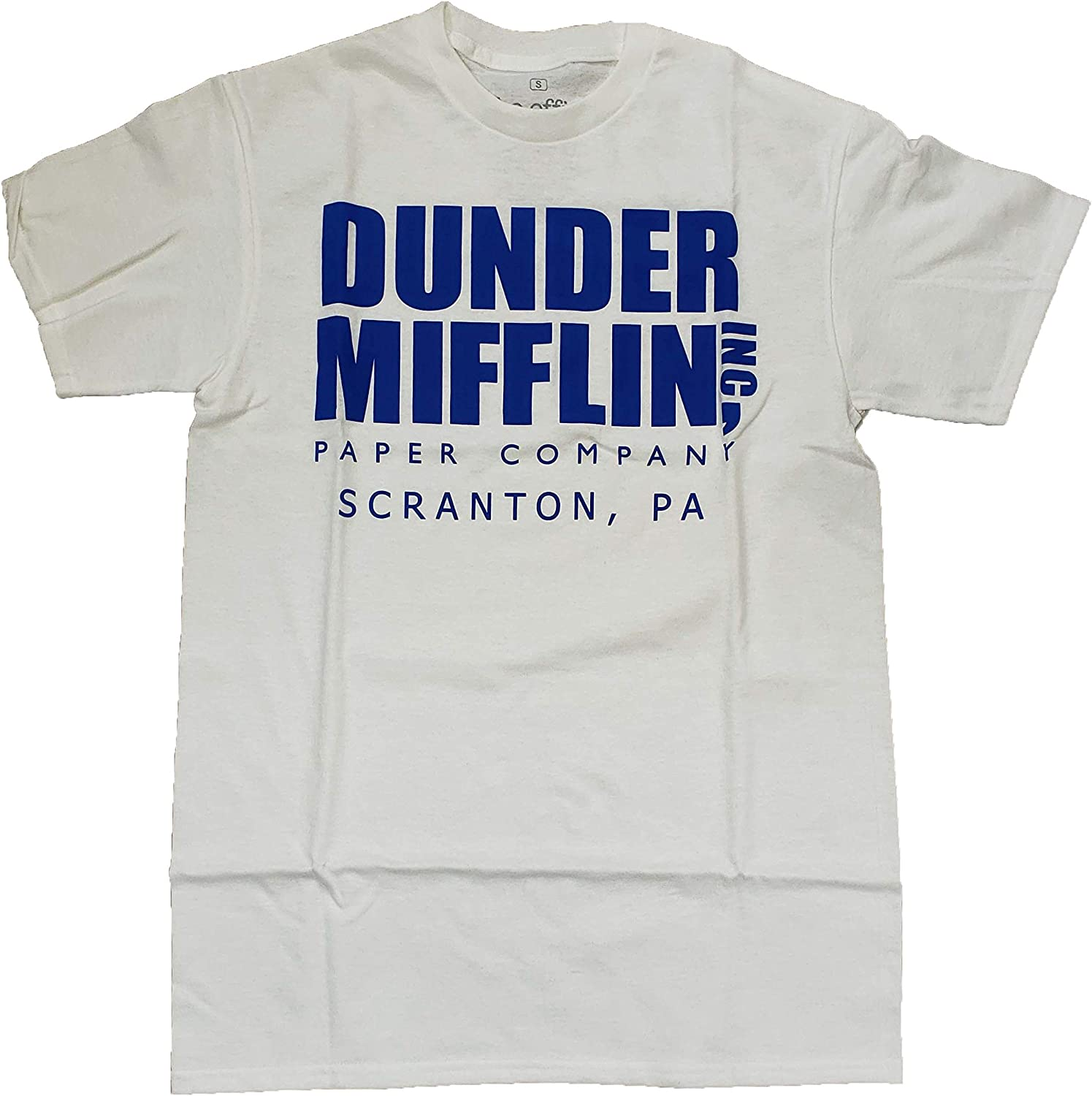 The Office Dunder Mifflin Paper Company White Graphic T-Shirt