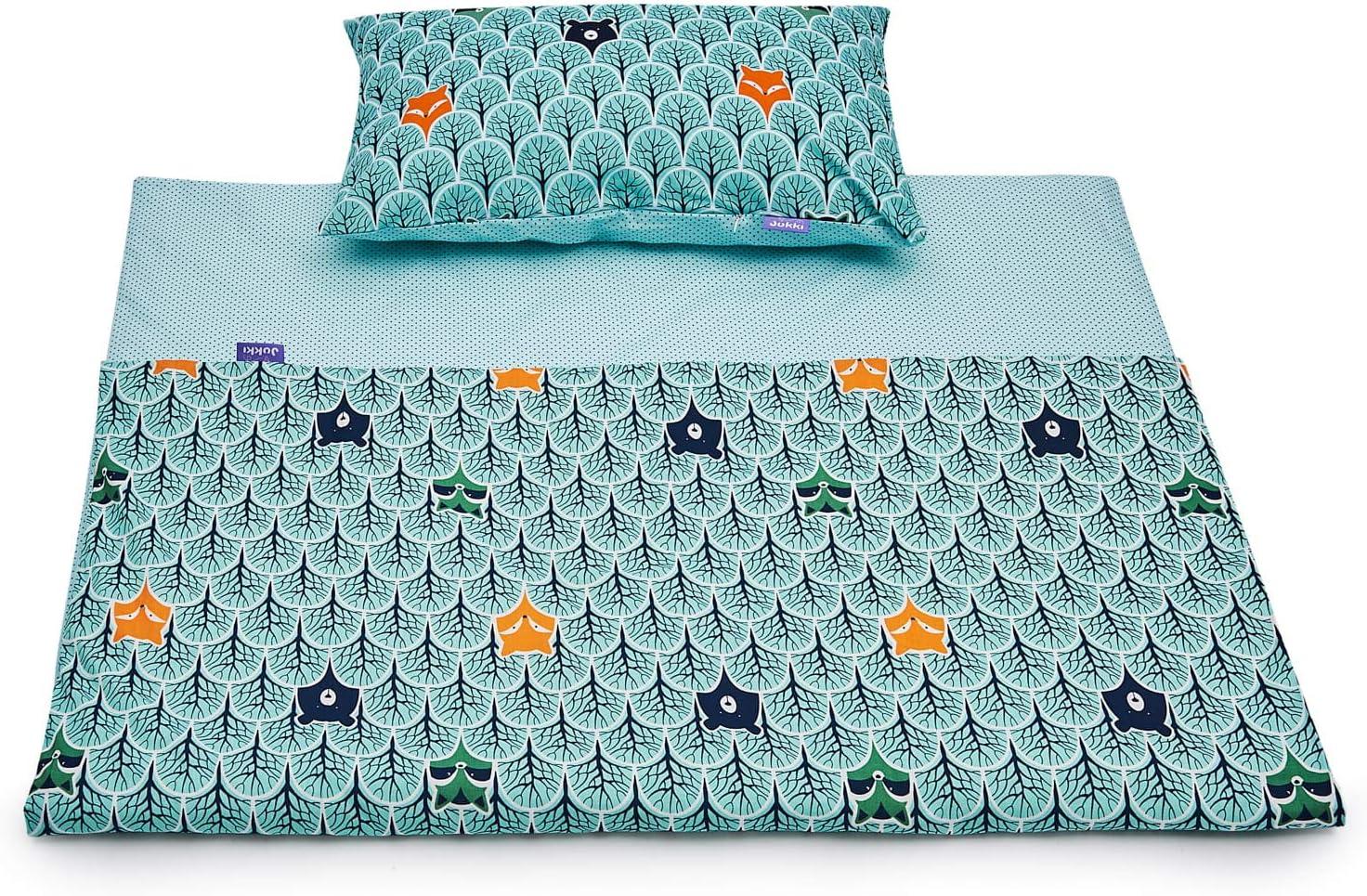 Baby toddler cot cot bed set duvet cover pillowcase 100/%cotton kitten red heart