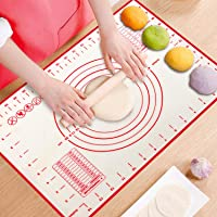 ProAussie Large Silicone Baking Mat for Rolling Dough (40cmx60cm) Pastry Mat with Measurements Extra Thick Non Stick…