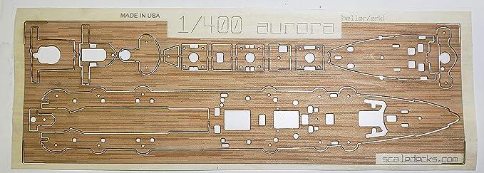 Amazon.com: Cubierta de madera premium para 1/400 Aurora ...