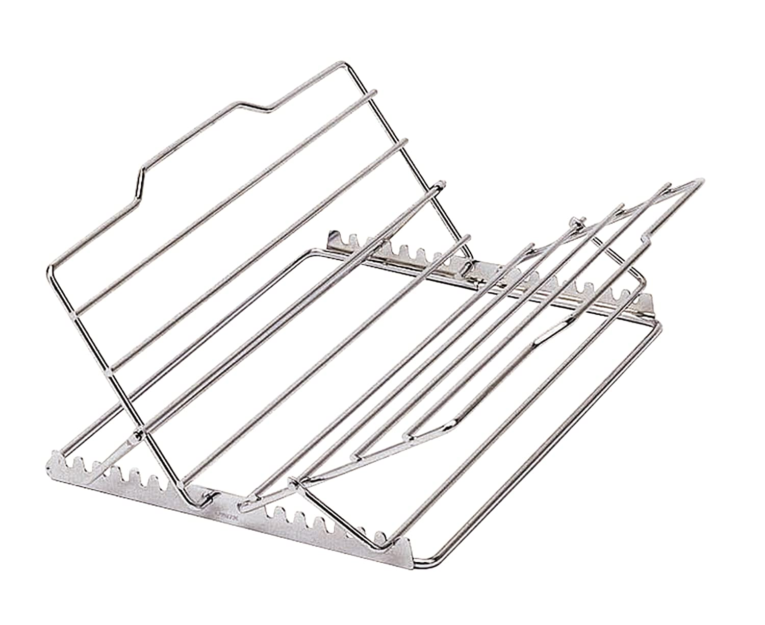 "KitchenCraft Chrome-Plated Adjustable Roasting Rack, 29 x 23 x 9 cm (11.5"" x 9"" x 3.5"") Brandcentre Kitchen Craft KCADJRACK"