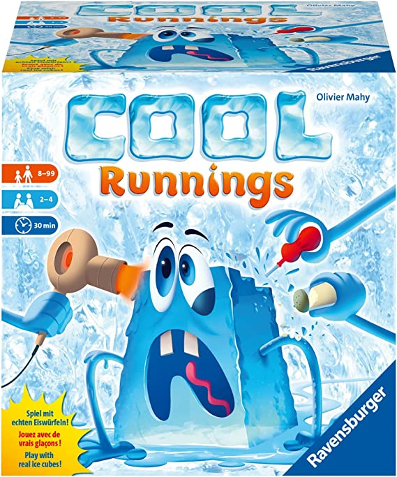 Cool runnings - Juegos de mesa (Ravensburger 26002): Amazon.es ...