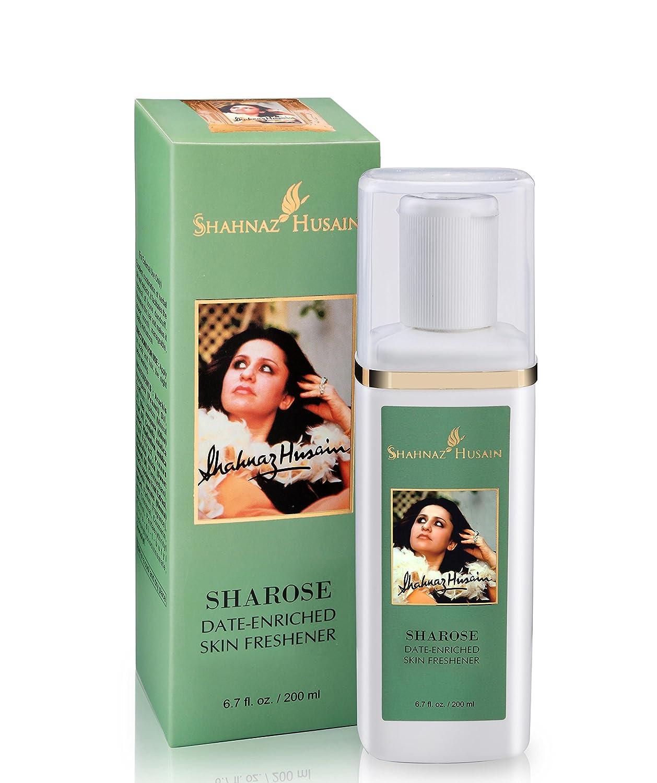 Shahnaz Husain Sharose Date Enriched Herbal Ayurvedic Skin Toner Latest International Packaging (6.7 fl. oz. / 200 ml)