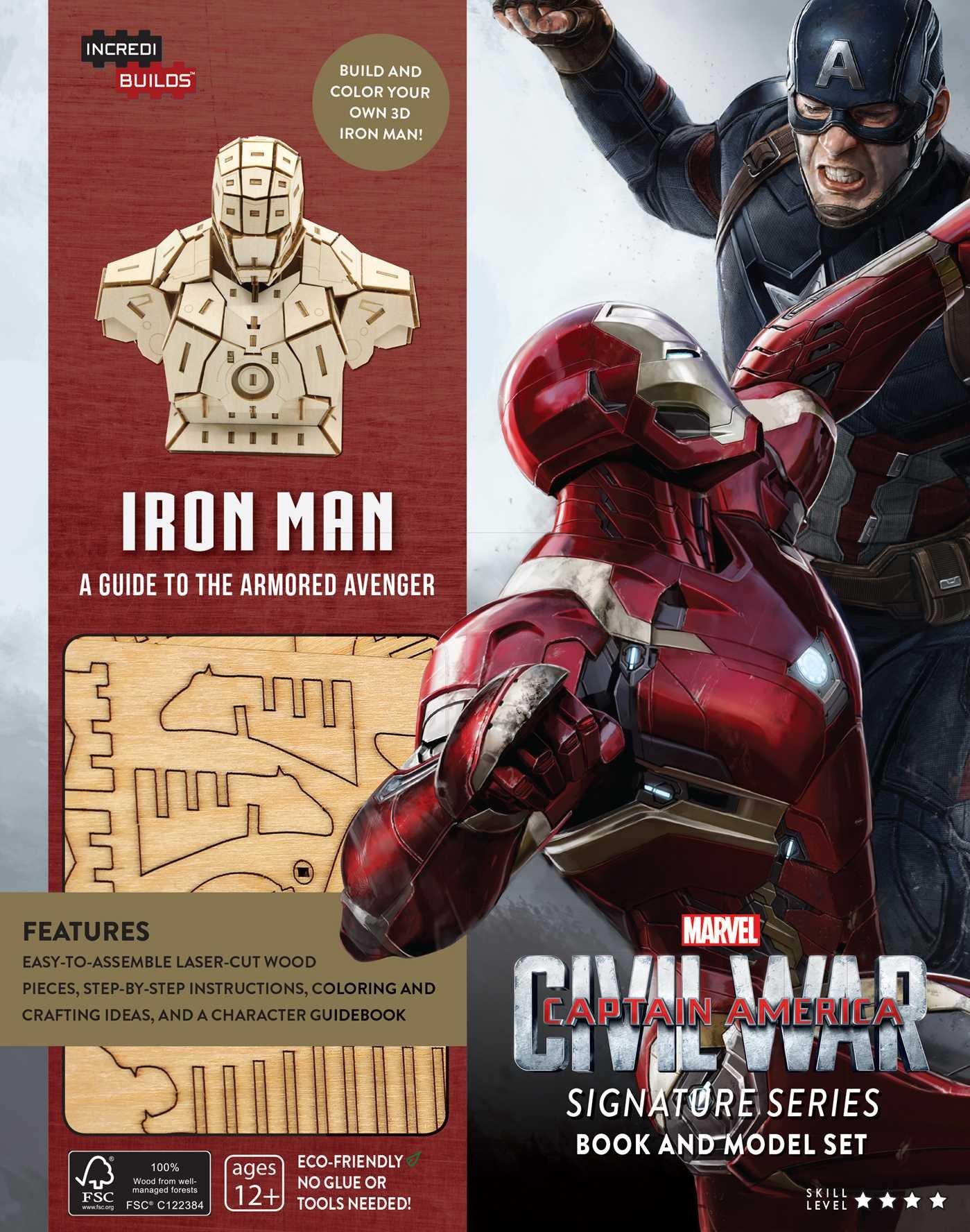 IncrediBuilds: Marvel's Captain America: Civil War: Iron Man Signature Series Book and Model Set pdf