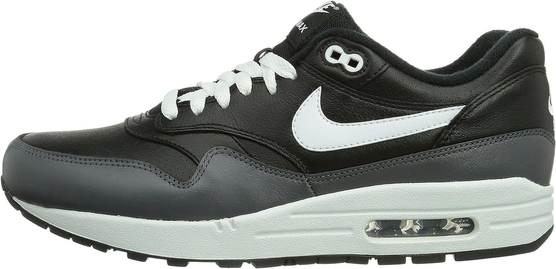 Nike Air MAX 1 LTR, Zapatillas Tobilleras para Hombre, Nero Schwarz Black, 44 EU: Amazon.es: Zapatos y complementos