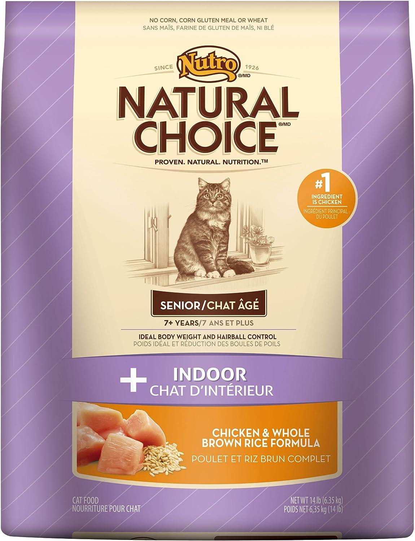 Nutro Natural Choice Senior Indoor Cat Dry Food