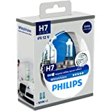 Philips PH H755W Ampoules Halogène Vision H7 12 V, Blanc, Set de 2