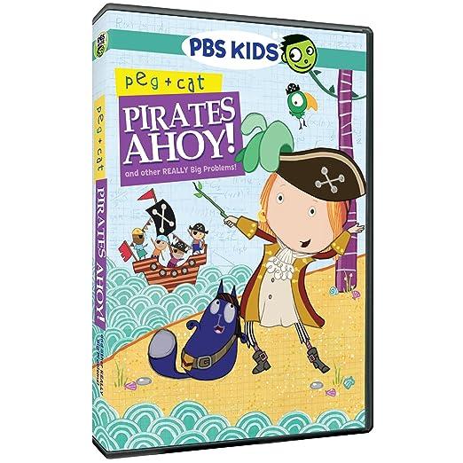 Amazon.com: Peg & Cat: Pirates Ahoy & Other Really Big Problem ...