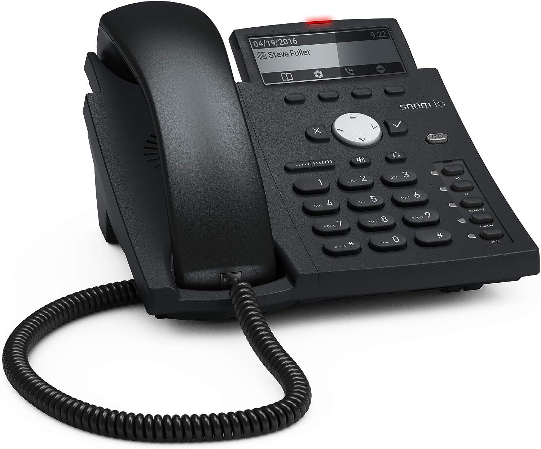 Snom D315 Ip Telefon Sip Tischtelefon Schwarz Elektronik
