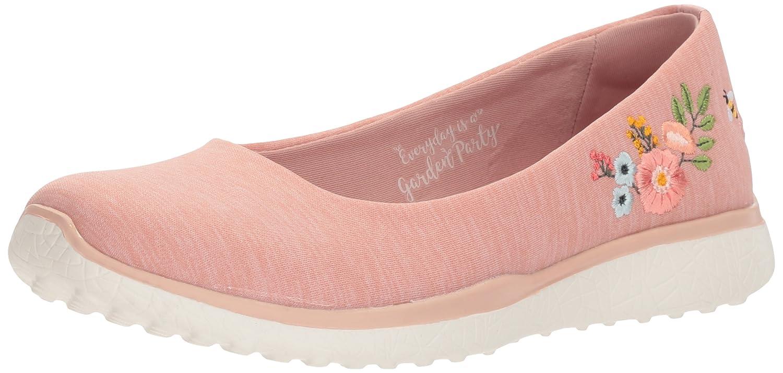 Skechers Women's Microburst Botanical Paradise Sneaker B0748CKXK1 10 B(M) US|Rose