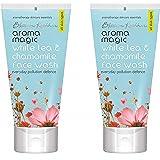 Aroma Magic White Tea and Chamomile Face Wash (Pack Of 2) 100ml