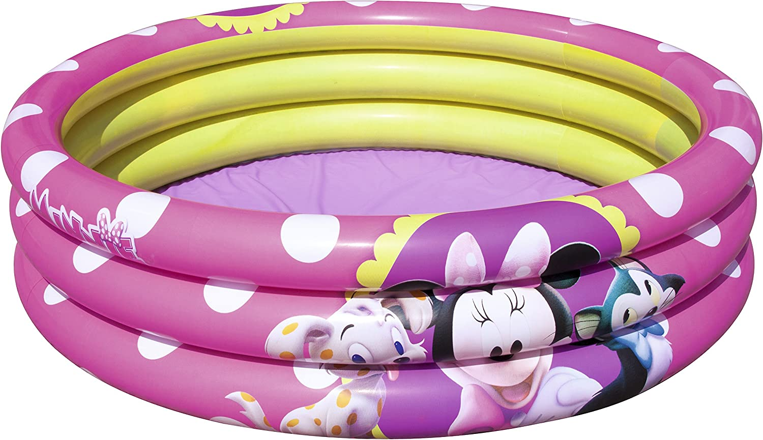 Piscina Hinchable Infantil Bestway Minnie Mouse Ø102x25 cm