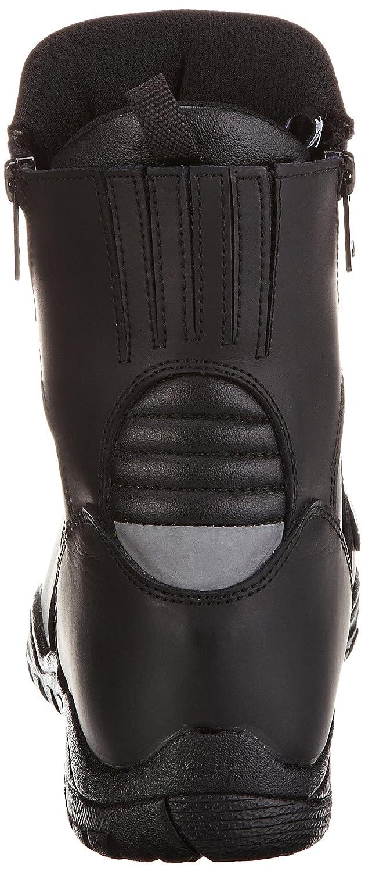 TB-ALN H-2008 Taille: 47 Protectwear Bottes de moto tourn/ée noir bas en cuir