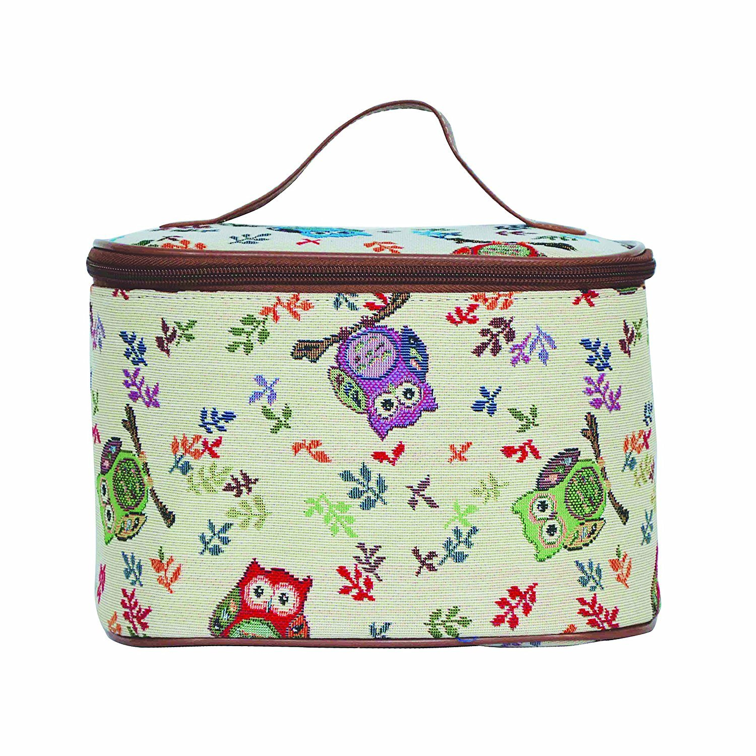 Owl Pattern Cosmetic Bag/Cosmetic Travel Bag/Portable Travel Makeup Bag for Women from Siganre (Toil-OWL)