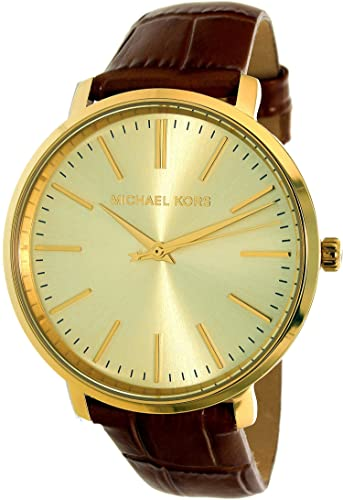 Amazon.com: Michael Kors Womens Jaryn Brown Watch MK2496: Michael Kors: Watches